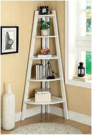 trendy corner space with various ladder shelf furniture u2013 modern