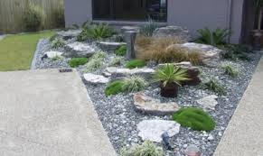 Japanese Rock Garden Designs by Stunning Rock Garden Design With Colorful Plants And Flowers In A
