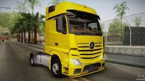 mercedes truck 2016 mercedes benz actros for gta san andreas