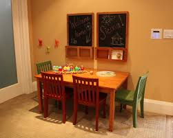 Craft Desk With Storage Kids Room Traditional Kids Room With Wooden Kids Craft Table With