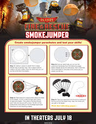 planes fire rescue birthday party smokejumper game disney