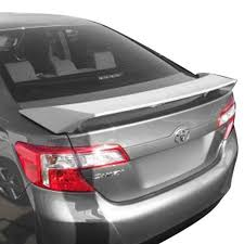 toyota camry spoiler t5i toyota camry 2012 2014 factory style rear spoiler with light