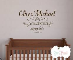 Personalized Wall Decals For Nursery Every And Gift Personalized Wall Decal Nursery