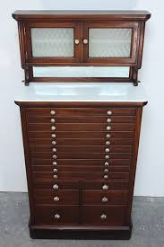 1931 american cabinet co mahogany dental cabinet antique vintage