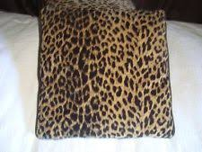 Cheetah Home Decor Animal Print Velvet Home Décor Pillows Ebay