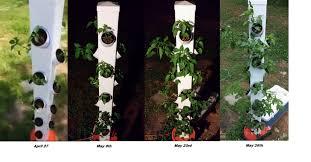 Aeroponic Vertical Garden The Rain Tower Vertical Hydroponic System Tomorrow U0027s Garden