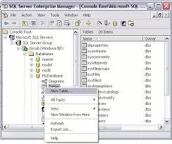sql server compare tables sql server create a table