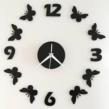 online get cheap wall clocks butterfly aliexpress com alibaba group
