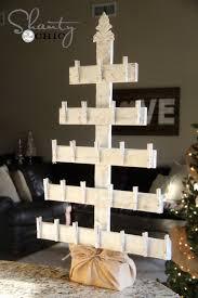 diy tree advent calendar hometalk
