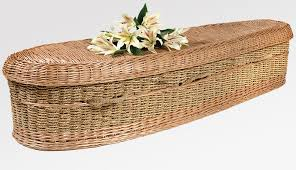 wicker casket seagrass casket a sacred moment