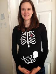 Pregnancy Shirts Halloween by Keeping My Cents Halloween Skeleton And Baby Maternity Shirt