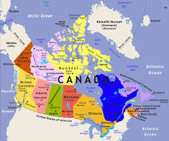 map of canada map of canada major tourist attractions maps