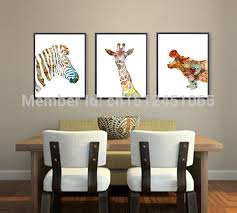 Canvas Home Decor Online Get Cheap Zebra Print Wall Art Aliexpress Com Alibaba Group