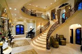 these staircases are the definition of luxurious