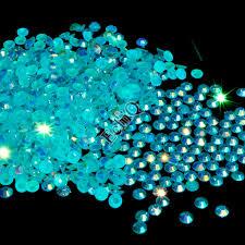 popular rhinestone ab buy cheap rhinestone ab lots from china 1 bag 1000pcs 3mm diy holo nail art rhinestones ab sky blue jelly rhinestone nail decoration