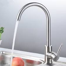 Lead Free Kitchen Faucets 304 Stainless Steel Lead Free Kitchen Faucet Mixer And Cold