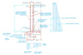 RC Retaining Wall Design - Concrete retaining walls design
