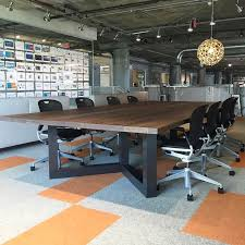 Cool Meeting Table Brilliant Cool Meeting Table With Vault49 Silk Screened Table On