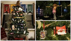themed christmas tree the is loving this harry potter themed christmas tree