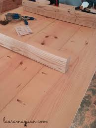 Kreg Jig Table Top Weekend Build Patio Dining Table Part 1 Laura May Jean