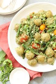 arugula pesto potato salad harvest kitchen