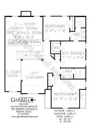 vinings cottage a house plan house plans by garrell associates inc