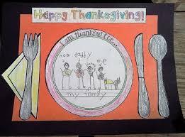 thanksgiving placemat craftivity bulletin board display