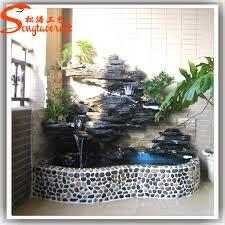 Indoor Rock Garden - indoor fiberglass modern rock garden stone water fountain with