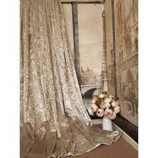 Gold Velvet Curtains Stunning Heavy Chagne Crushed Velvet 111 D 52 W Blackout Lined