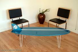 Surfboard Coffee Table Surf Board Coffee Table Lunar Lounge