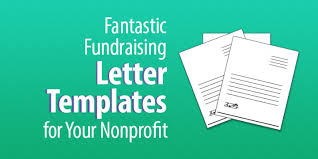 4 fantastic fundraising letter templates for your nonprofit