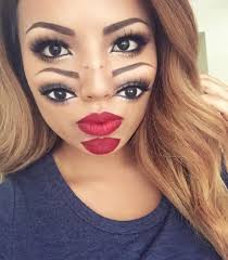 makeup for makeup artist deaky makeup artist gives herself another geekologie