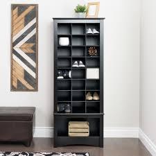 Shoe Storage Furniture by Shoe Storage Cabinet Wood Felton Tall Pair Shoe Shoe Storage
