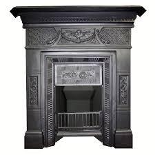 antique victorian cast iron croshwaite 1884 fireplace