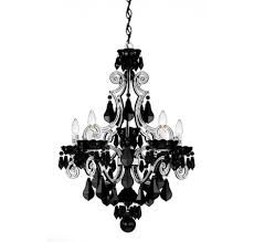 Small Black Chandelier Pleasing Chandelier Black And White About Small Home Decoration