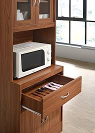 kitchen cabinet with top and bottom hodedah standing kitchen cabinet with top bottom enclosed cabinet space one drawer large open space for