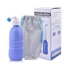 Portable Bidet Travel Handheld Bidet Personal Hygiene Spray Cleaner Toilet For