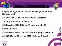 cuisine collective reglementation formation hygiene et securite en restauration collective ppt