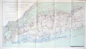 Long Island New York Map by Map Showing The Position Of The Main Ground Water Table On Long