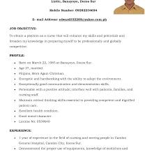 nursing career objective exles unbelievable resume exles nursing cv sle for nurses rn nurse