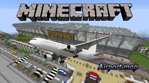 Airport Map Minecraft Airport Map Free Download Youtube