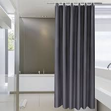 84 Inch Fabric Shower Curtain Aoohome Shower Curtain 72 X 84 Inch Solid