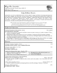Spanish Teacher Resume Examples by Canadian Teacher Resume Templates