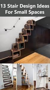 Interior Design Ideas For Small Apartments 13 Stair Design Ideas For Small Spaces Contemporist