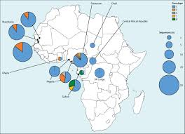Central Africa Map Quiz by Prevalence Of Hepatitis D Virus Infection In Sub Saharan Africa A
