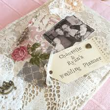 Wedding Planner Books Wedding Planner Book Vintage Rose Vintage Style Wedding