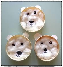 pinterest bricolage enfant ours polaires avec boite de camembert bricolage hiver enfants