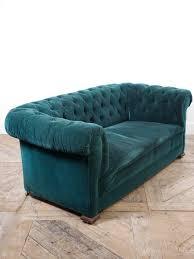 velvet chesterfield sofa u2013 drew pritchard ltd