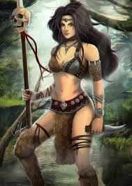 Amazon Warrior   artstation amazon warrior carlos vasseur