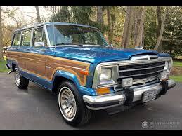 old jeep grand wagoneer 1986 jeep grand wagoneer grand wagoneer by classic gentleman